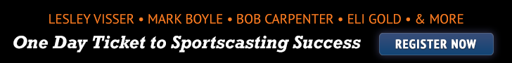 2015 One Day Ticket to Sportscasting Success seminar
