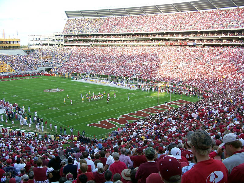 college football crimson tide