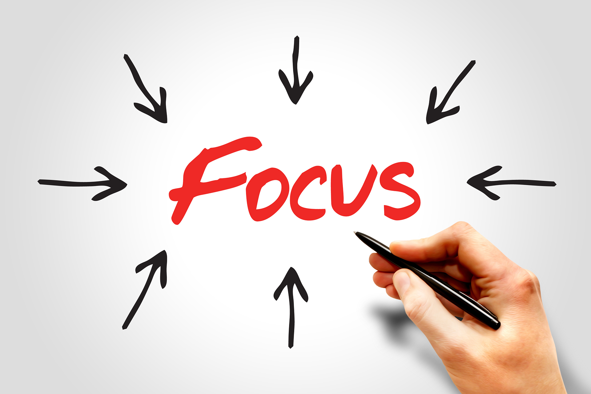 don't focus on your next job