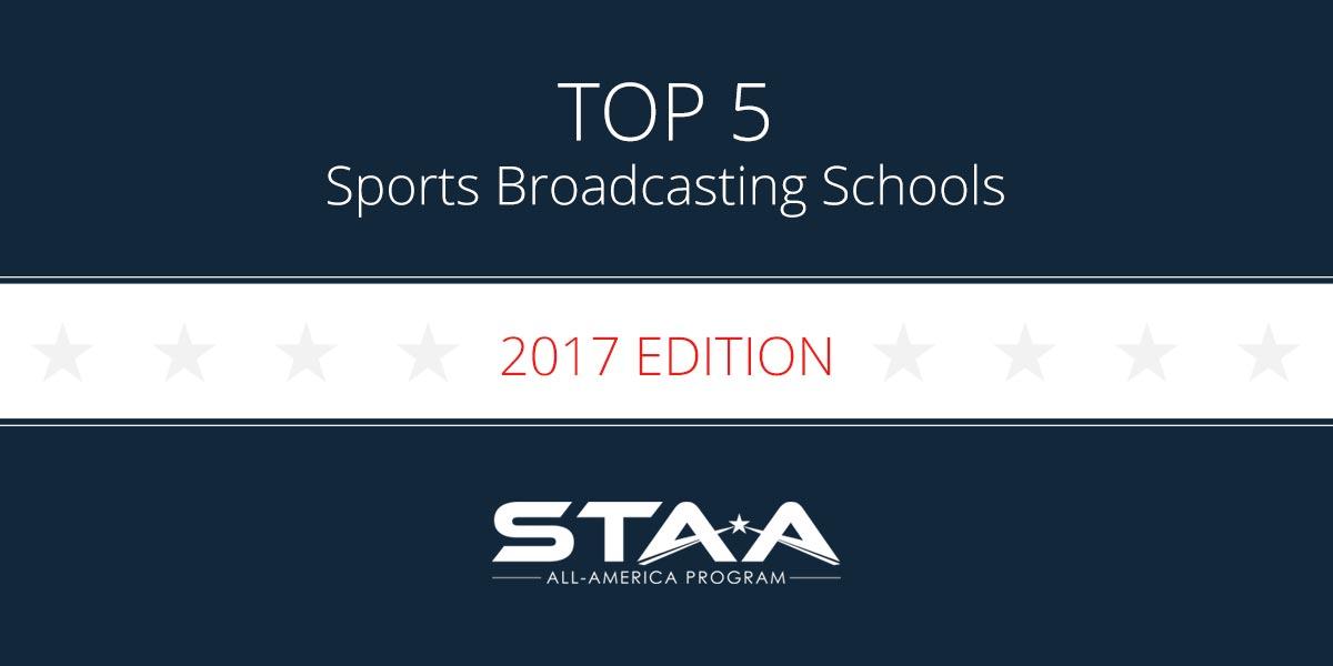 top 5 sports broadcasting schools